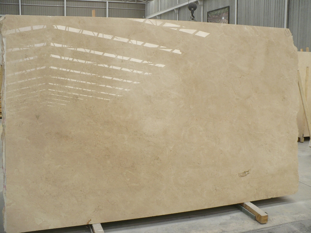 Crema Marfil slabs 3 cm polished